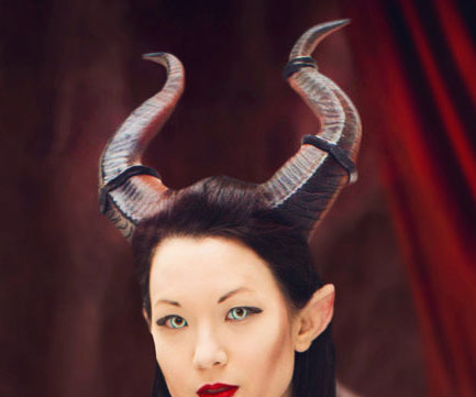 3D Printed Maleficent Horns