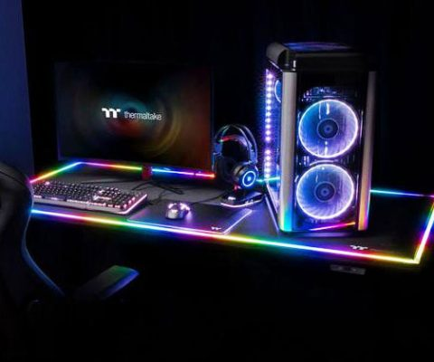 RGB Battlestation Gaming Desk