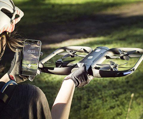 Auto-Following Autonomous A.I. Drone