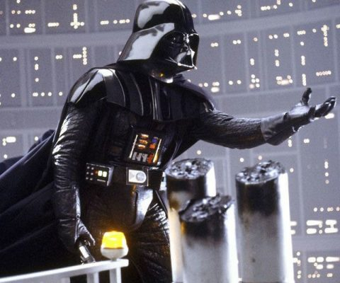 Darth Vader's On-Screen Suit