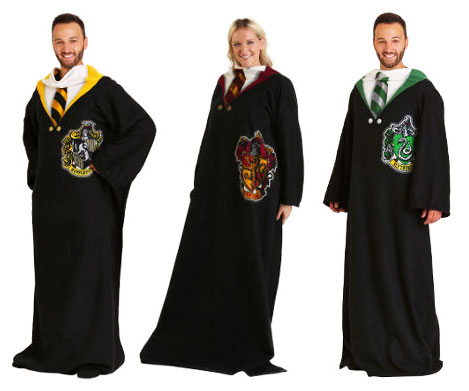 Hogwarts Houses Wearable Blankets