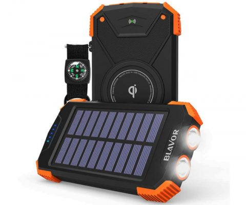 Rugged Solar Power Bank