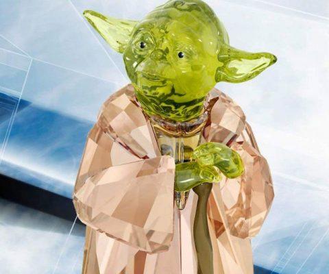 Swarovski Crystal Yoda