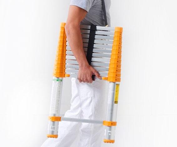 Telescoping Aluminum Ladder