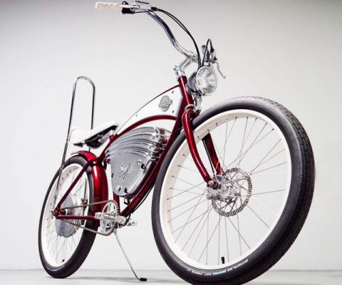 Vintage Styled Electric Bike