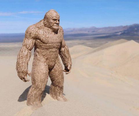 Epic Bigfoot Statue