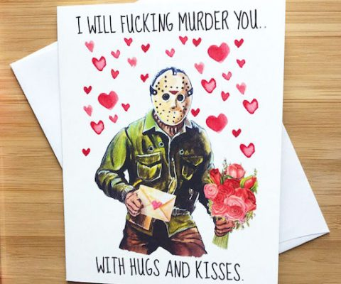 I Will Murder You Card