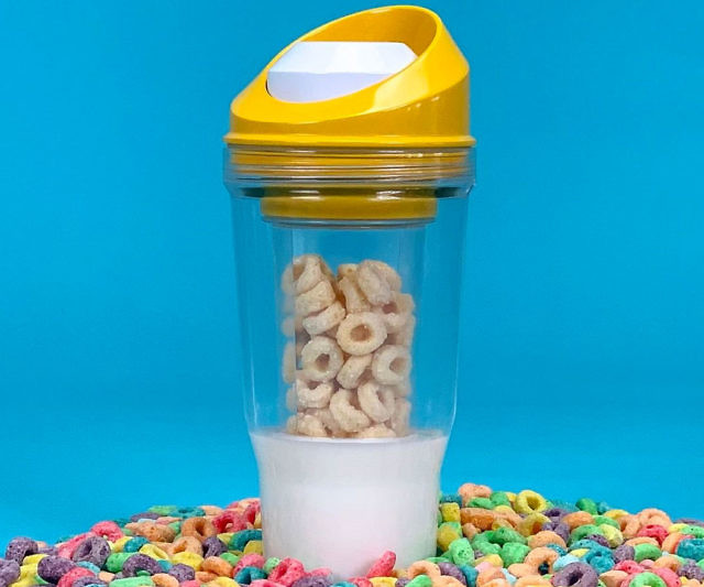 The Mix As You Eat Portable Cereal Cup