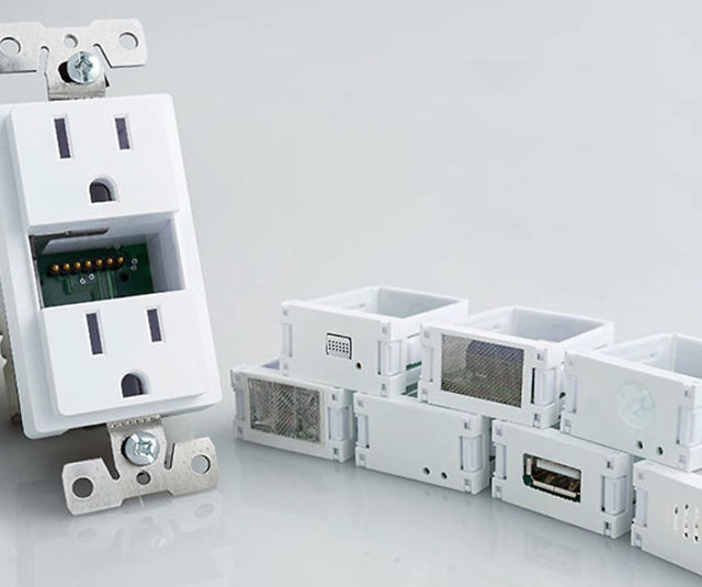 Modular Smart Home Inserts Outlet