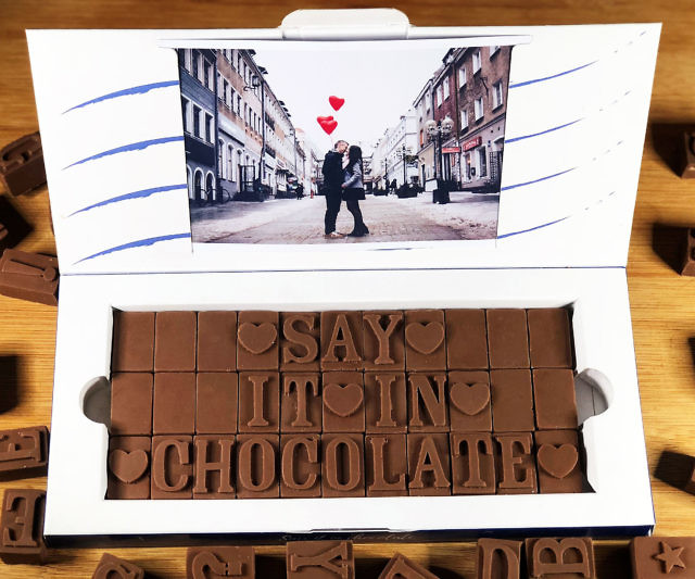 Personalized Chocolate Messsages