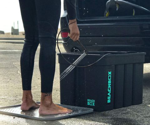 The Portable Shower And Storage Box