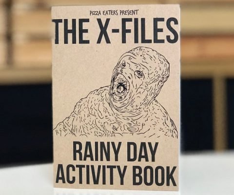 X-Files Activity And Coloring Book