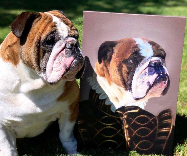 Personalized Noble Pet Portraits