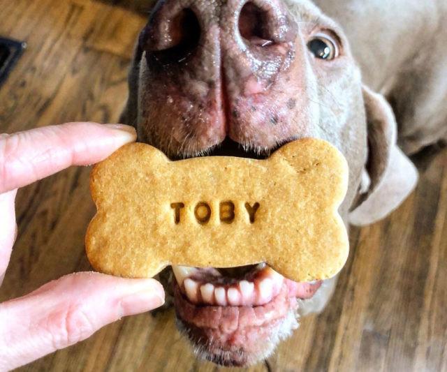 Personalized Peanut Butter Dog Treats