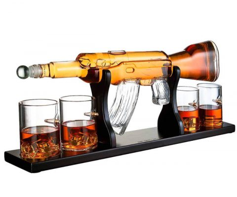 AR-15 Rifle Whiskey Decanter