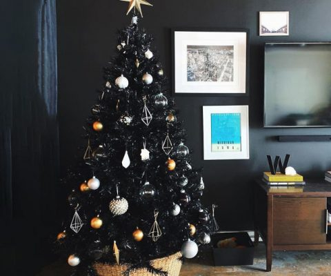 The Black Christmas Tree