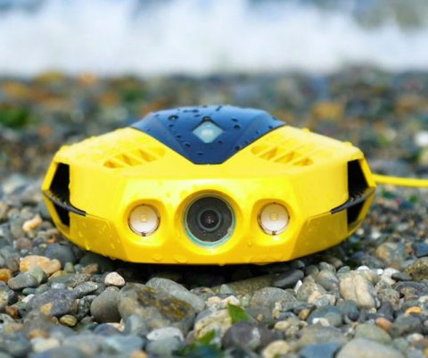 Ultra Portable Underwater Drone