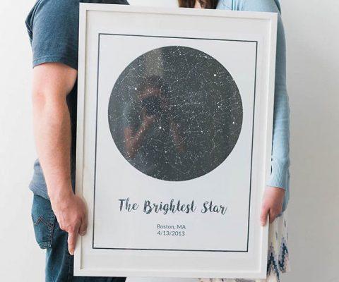 Personalized Night Sky Print