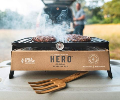The Hero Portable Charcoal Grill