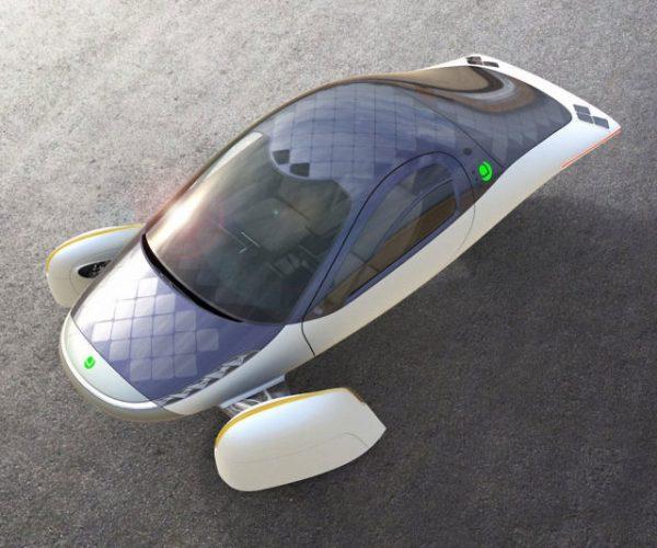 Aptera 1000 Mile Range Electric Vehicle