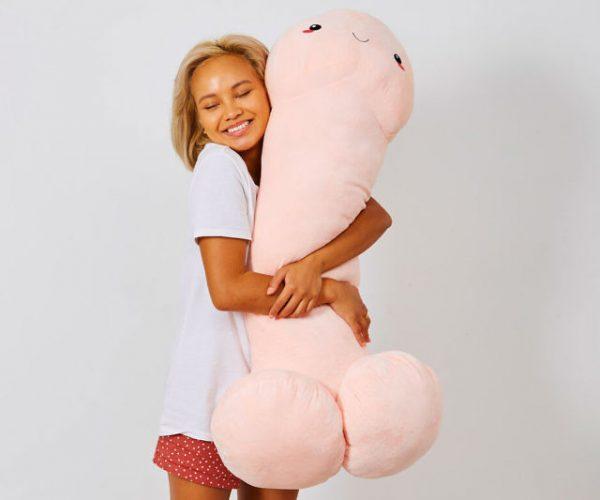 Jumbo Penis Body Pillow