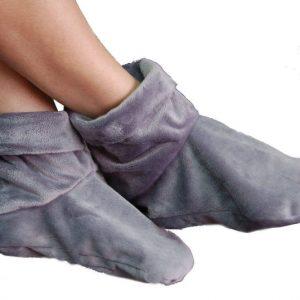 Heated Microwaveable Foot Booties