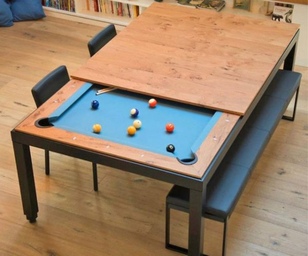 The Convertible Dining Pool Table
