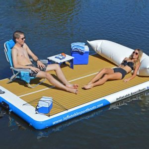 The Inflatable Yacht Dock
