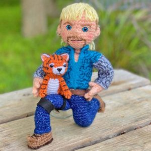 Tiger King Crochet Amigurumi