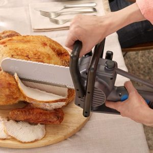 Electric Chainsaw Turkey Carving Knife