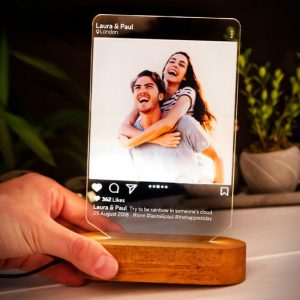 Instagram Style 3D Personalized Lamp