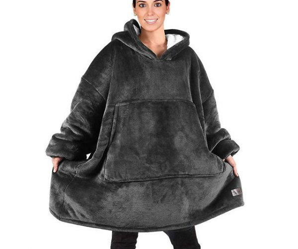 Oversized Hoodie Sweatshirt Blanket