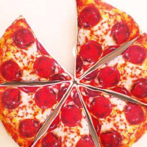 Pepperoni Pizza Slice Pillows