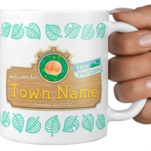 Personalized Animal Crossing Mug