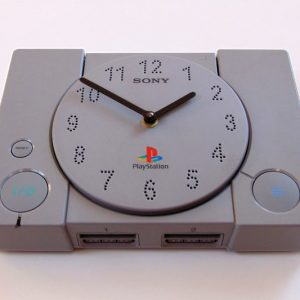 PlayStation Console Wall Clock