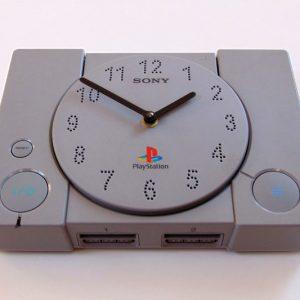 PlayStation Console Wall Clock
