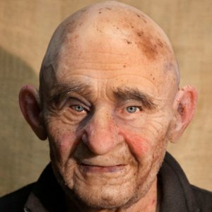 Realistic Old Man Silicone Mask