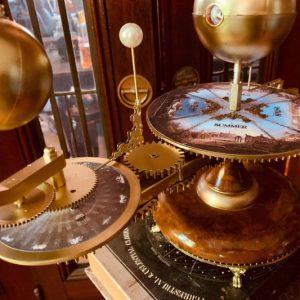 Steampunk Victorian Tellurian Orrery