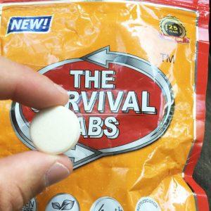 Edible Survival Tabs