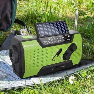 Solar Crank Emergency Station
