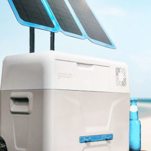 The Solar Powered Iceless Cooler