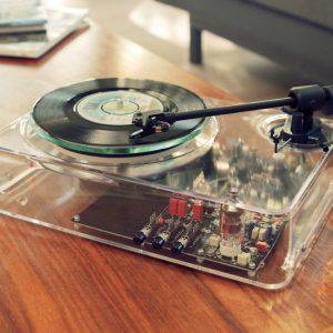 The Transparent Turntable