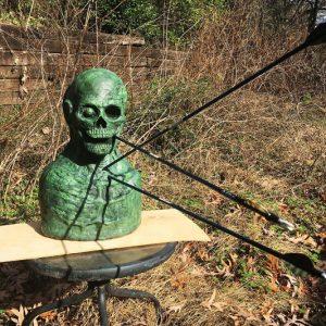 Zombie Head Archery Target