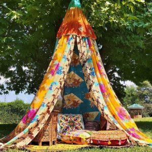 Bohemian Canopy Tent