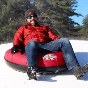 Heavy-Duty Inflatable Snow Tube