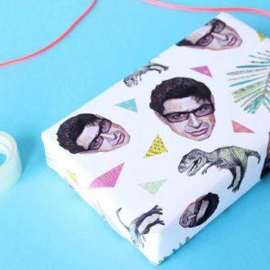 Jeff Goldblum Wrapping Paper