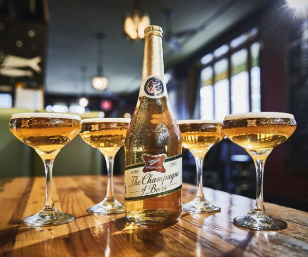 Miller High Life Champagne