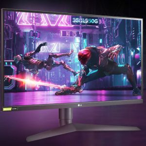 Level up your gaming experience by upgrading to the LG 1 millisecond IPS gaming monitor. Designed for serious gamers, this Nvidia G-SYNC compatible monitor boasts an ultra immersive 27-inch QHD (2560 x 1440) nano IPS display.