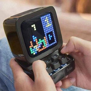 Retro Pixel Art Game Bluetooth Speaker