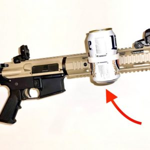 AR-15 Tactical Beer Can Holder
